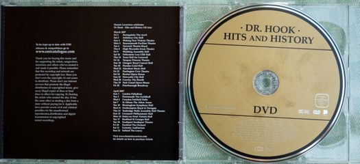 CD DVD - EMI - Dr Hook Hits and History - EU - 2007 - 5