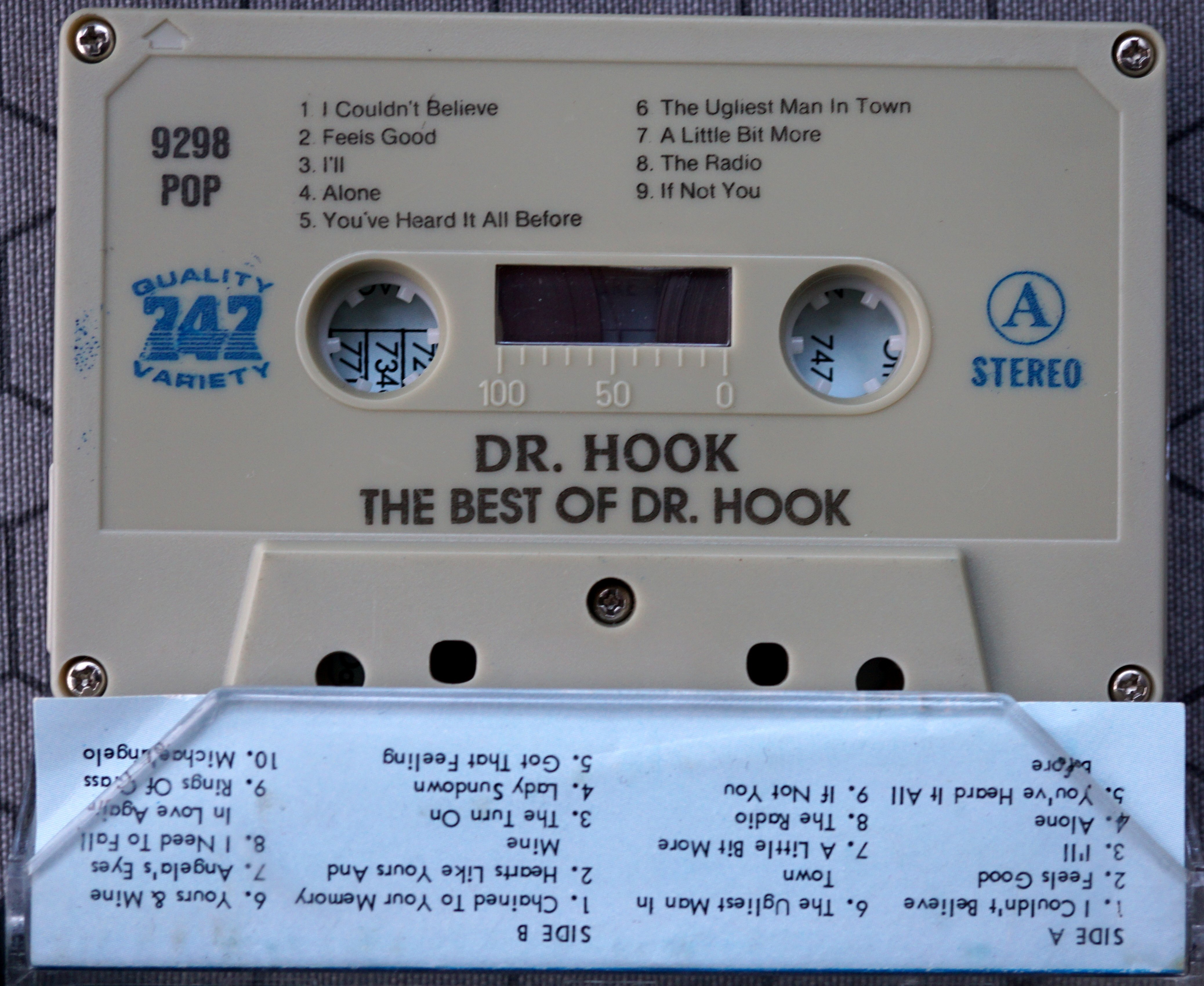 P - 747 POP 9298 - The best of dr Hook - 2