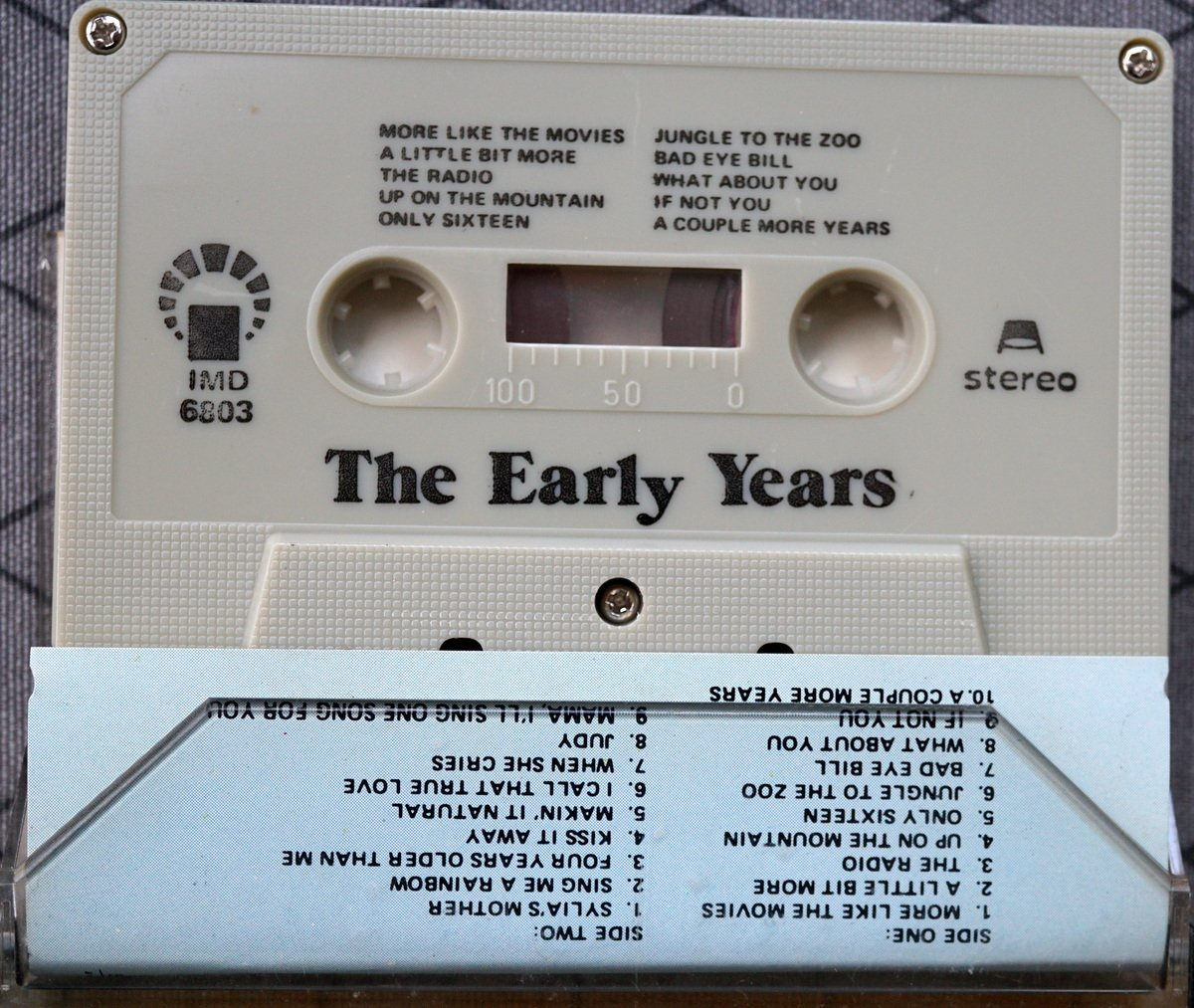 P - IMD 6803 - The Early Years - 2