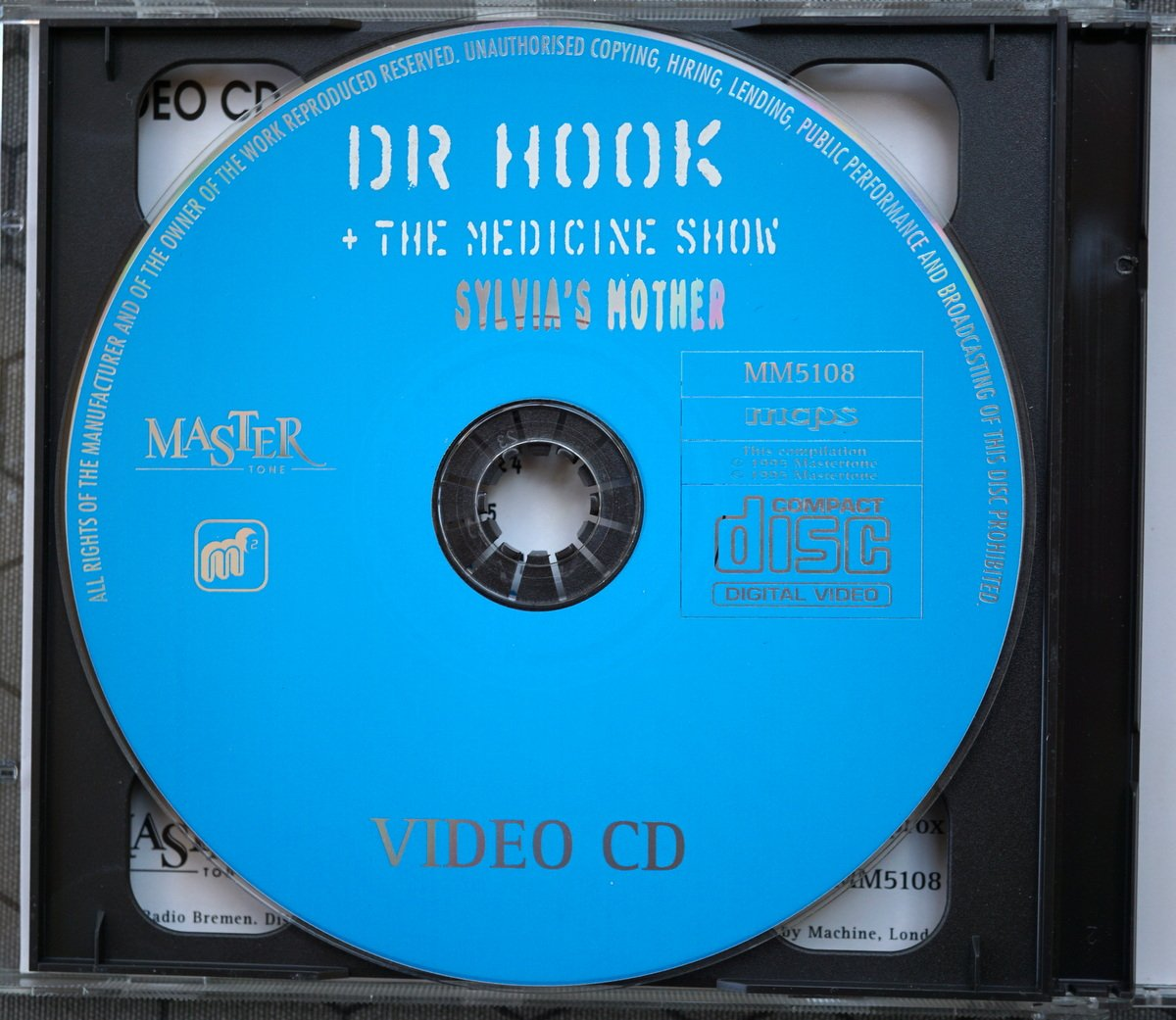 P DVD - MasterTome MM5108 - Dr Hook Silvias Mother - UK - 1995 - 2
