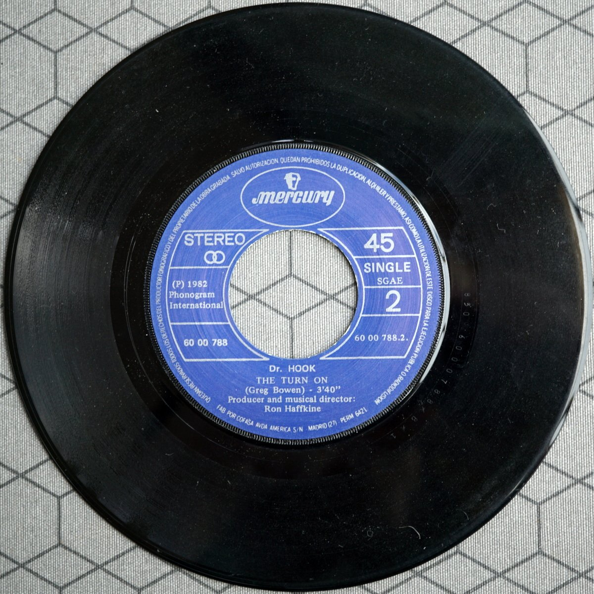 S PD A1 - 6000 788 - Baby Make Her Blue Jeans Talk - 1982 - ES - 4