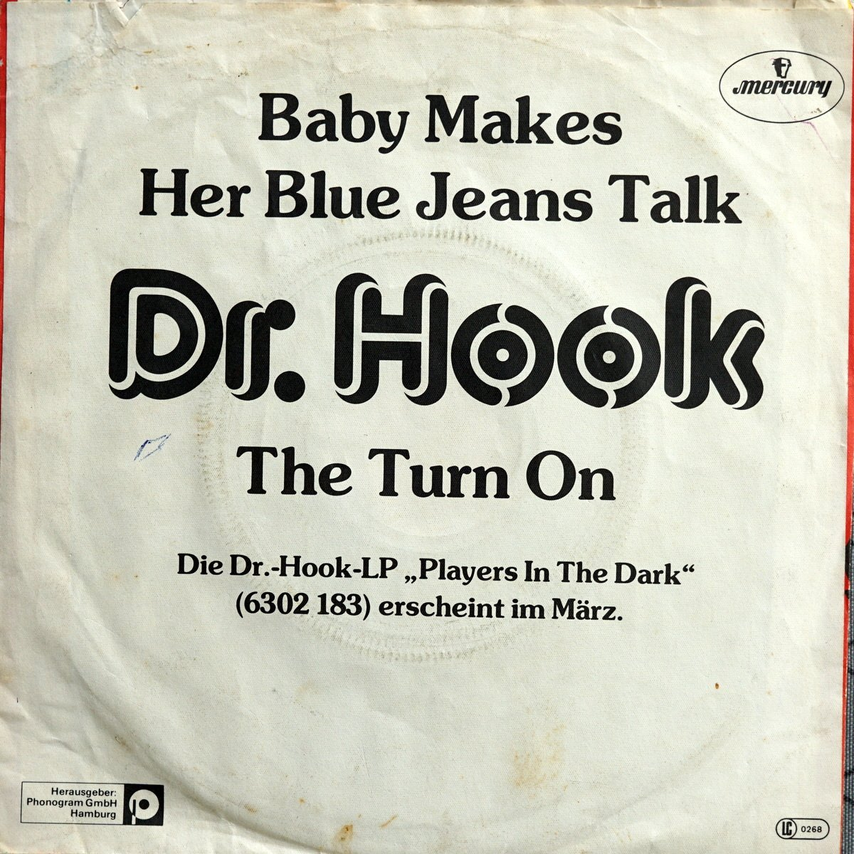 S PD A1 - 6000 788 - Baby Make Her Blue Jeans Talk - 1983 - DE - 2