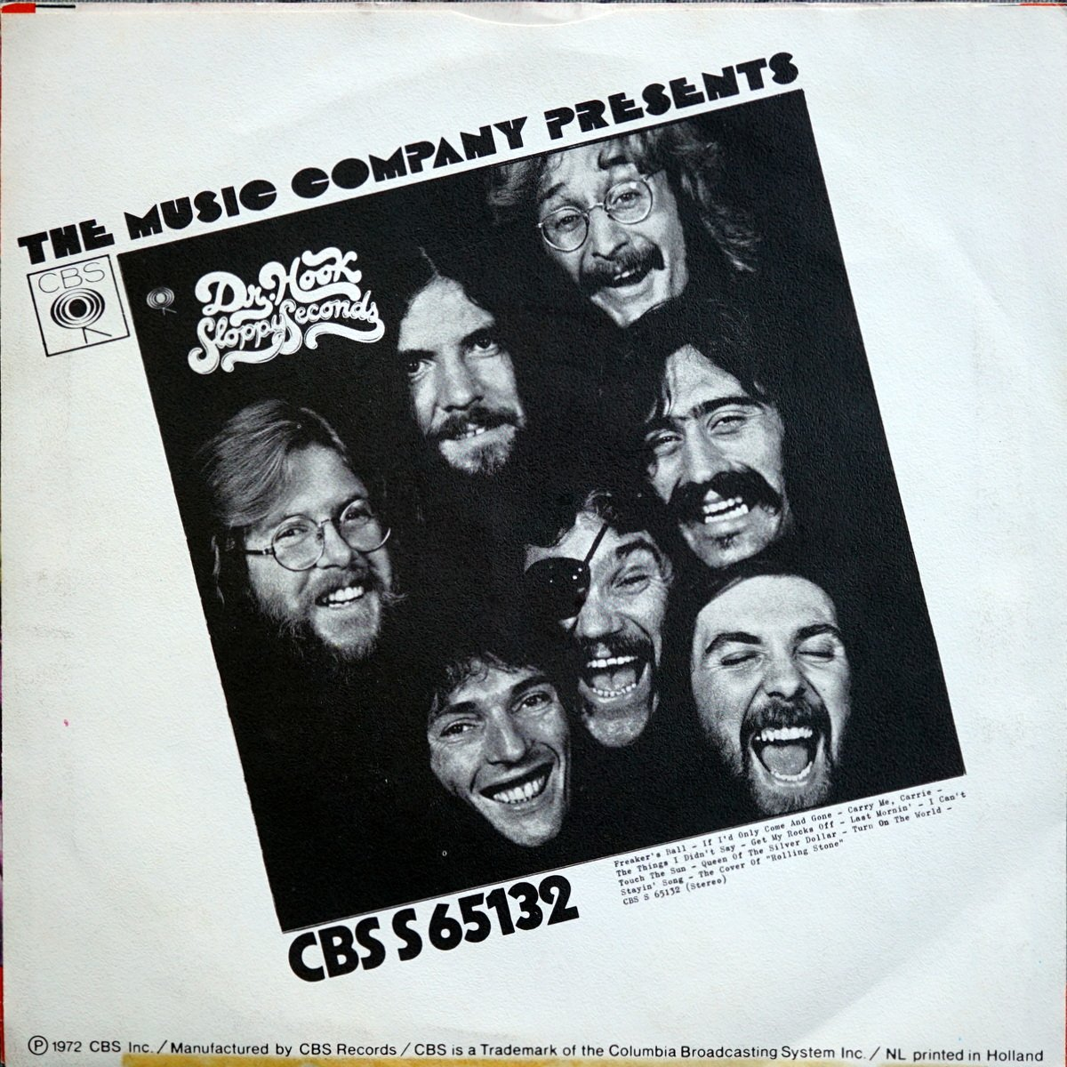 S SS B5 - CBS 1037 - The Cover Of The Rolling Stone - 1972 - DE - 2